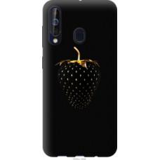Чехол на Samsung Galaxy A60 2019 A606F Черная клубника (3585u-1699)