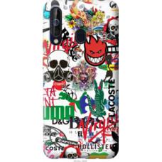 Чехол на Samsung Galaxy A60 2019 A606F Many different logos (4022u-1699)