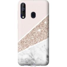 Чехол на Samsung Galaxy A60 2019 A606F Пастельный мрамор (4342u-1699)