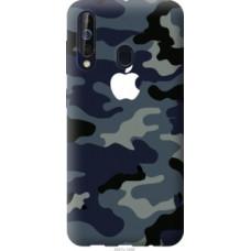 Чехол на Samsung Galaxy A60 2019 A606F Камуфляж 1 (4897u-1699)