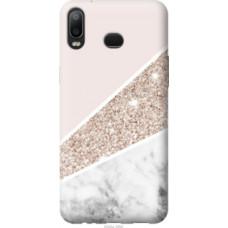 Чехол на Samsung Galaxy A6s Пастельный мрамор (4342u-1604)