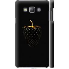Чехол на Samsung Galaxy A7 A700H Черная клубника (3585c-117)