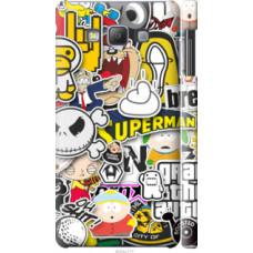 Чехол на Samsung Galaxy A7 A700H Popular logos (4023c-117)