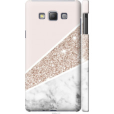 Чехол на Samsung Galaxy A7 A700H Пастельный мрамор (4342c-117)