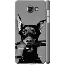 Чехол на Samsung Galaxy A7 (2016) A710F Доберман (2745c-121)