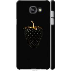 Чехол на Samsung Galaxy A7 (2016) A710F Черная клубника (3585c-121)