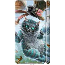 Чехол на Samsung Galaxy A7 (2016) A710F Чеширский кот 2 (3993c-121)