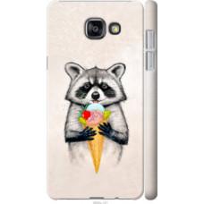 Чехол на Samsung Galaxy A7 (2016) A710F Енотик с мороженым (4602c-121)