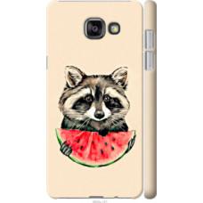 Чехол на Samsung Galaxy A7 (2016) A710F Енотик с арбузом (4605c-121)