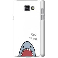 Чехол на Samsung Galaxy A7 (2016) A710F Акула (4870c-121)