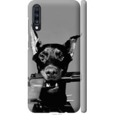 Чехол на Samsung Galaxy A70 2019 A705F Доберман (2745c-1675)