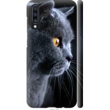 Чехол на Samsung Galaxy A70 2019 A705F Красивый кот (3038c-1675)