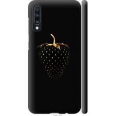 Чехол на Samsung Galaxy A70 2019 A705F Черная клубника (3585c-1675)