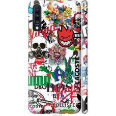Чехол на Samsung Galaxy A70 2019 A705F Many different logos (4022c-1675)