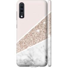 Чехол на Samsung Galaxy A70 2019 A705F Пастельный мрамор (4342c-1675)