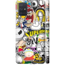Чехол на Samsung Galaxy A71 2020 A715F Popular logos (4023c-1826)