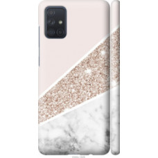 Чехол на Samsung Galaxy A71 2020 A715F Пастельный мрамор (4342c-1826)