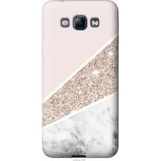 Чехол на Samsung Galaxy A8 A8000 Пастельный мрамор (4342u-135)