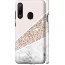 Чехол на Samsung Galaxy A8S Пастельный мрамор (4342c-1636)