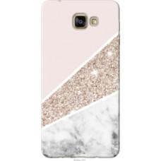 Чехол на Samsung Galaxy A9 Pro Пастельный мрамор (4342u-724)