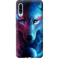 Чехол на Samsung Galaxy A90 5G Арт-волк (3999u-1800)