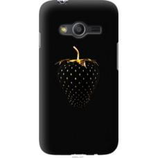 Чехол на Samsung Galaxy Ace 4 Lite G313h Черная клубника (3585u-208)