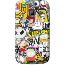 Чехол на Samsung Galaxy Ace Duos S6802 Popular logos (4023u-253)