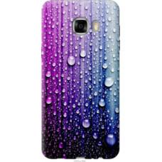Чехол на Samsung Galaxy C7 C7000 Капли воды (3351u-302)