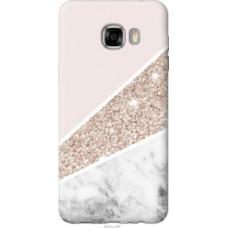 Чехол на Samsung Galaxy C7 C7000 Пастельный мрамор (4342u-302)