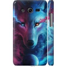 Чехол на Samsung Galaxy Core 2 G355 Арт-волк (3999c-75)