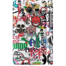 Чехол на Samsung Galaxy Core 2 G355 Many different logos (4022c-75)