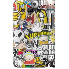 Чехол на Samsung Galaxy Core 2 G355 Popular logos (4023c-75)