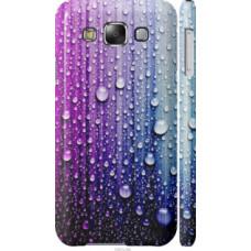 Чехол на Samsung Galaxy E5 E500H Капли воды (3351c-82)