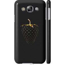 Чехол на Samsung Galaxy E5 E500H Черная клубника (3585c-82)