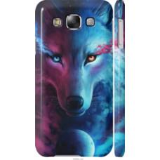 Чехол на Samsung Galaxy E5 E500H Арт-волк (3999c-82)
