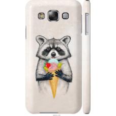 Чехол на Samsung Galaxy E5 E500H Енотик с мороженым (4602c-82)