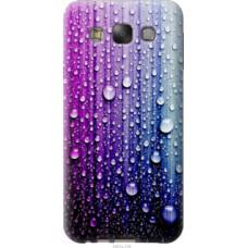 Чехол на Samsung Galaxy E7 E700H Капли воды (3351u-139)