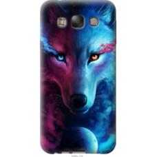 Чехол на Samsung Galaxy E7 E700H Арт-волк (3999u-139)