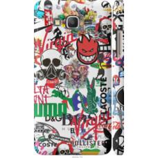 Чехол на Samsung Galaxy Grand Prime VE G531H Many different logos (4022c-212)