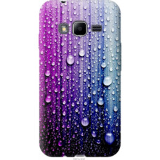 Чехол на Samsung Galaxy J1 Mini Prime J106 Капли воды (3351u-632)