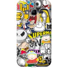 Чехол на Samsung Galaxy J1 Mini Prime J106 Popular logos (4023u-632)