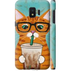 Чехол на Samsung Galaxy J2 Core Зеленоглазый кот в очках (4054c-1565)