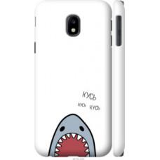 Чехол на Samsung Galaxy J3 (2017) Акула (4870c-650)