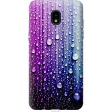 Чехол на Samsung Galaxy J3 2018 Капли воды (3351u-1501)