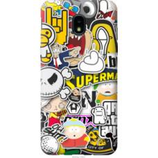 Чехол на Samsung Galaxy J3 2018 Popular logos (4023u-1501)