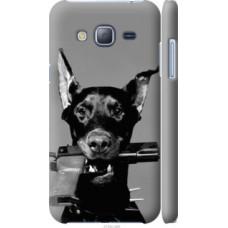 Чехол на Samsung Galaxy J3 Duos (2016) J320H Доберман (2745c-265)