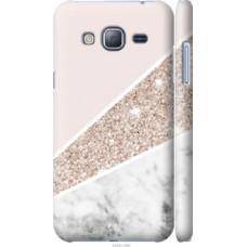 Чехол на Samsung Galaxy J3 Duos (2016) J320H Пастельный мрамор (4342c-265)