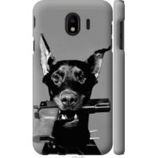 Чехол на Samsung Galaxy J4 2018 Доберман (2745c-1487)