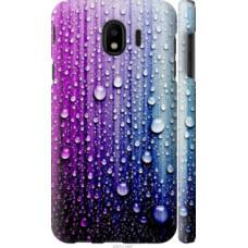 Чехол на Samsung Galaxy J4 2018 Капли воды (3351c-1487)