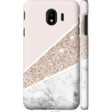 Чехол на Samsung Galaxy J4 2018 Пастельный мрамор (4342c-1487)